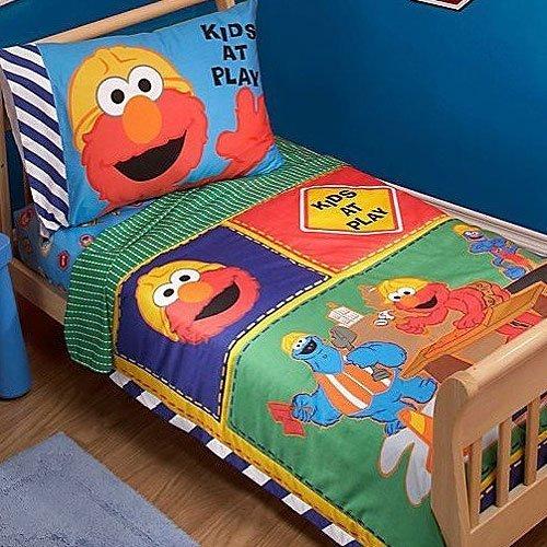 Sesame Street Construction Zone 4 Piece Toddler Set, Garden, Lawn, Maintenance