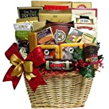 Art of Appreciation Gift Baskets   Best All Around Gourmet Food Gift with Smoked Salmon