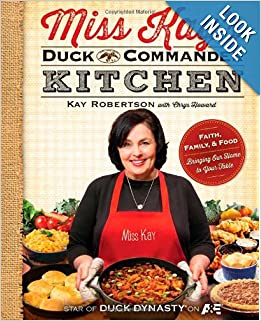 http://www.amazon.com/Miss-Kays-Duck-Commander-Kitchen/dp/1476745129/ref=sr_1_13?ie=UTF8&qid=1386600879&sr=8-13&keywords=duck+dynasty+merchandise