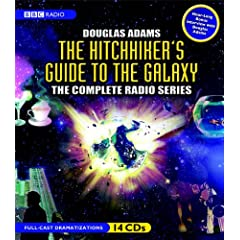The Hitchhiker's Guide to the Galaxy: The Complete BBC Radio Series by Douglas Adams