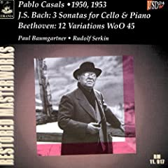 Bach: 3 Cello Sonatas / Beethoven: Variations WoO 45