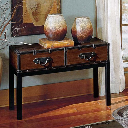 Cheap Steve Silver Voyage Trunk Console Table (VY200S)