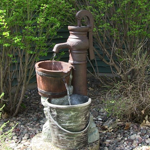 My landscaping collection landscaping fountain 38lx review Home made water feature