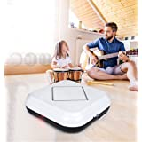Harpi Rechargeable Auto Smart Robot Vacuum Floor Automatic Induction Cleaner Dry Wet Mop Dust Sweeper (White) (Color: White)
