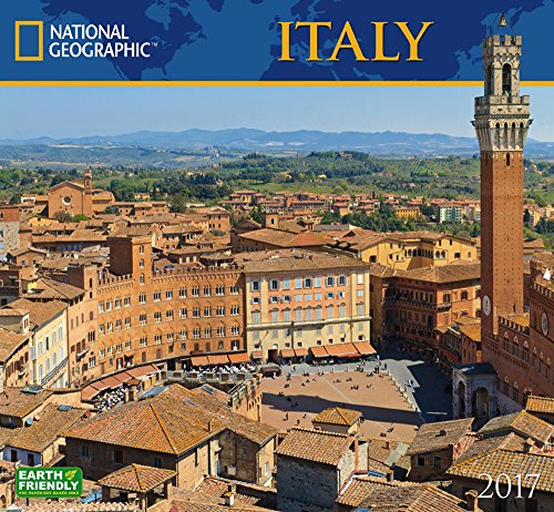 National Geographic Italy 2017 Wall Calendar
