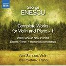 Oeuvres pour violon et piano (Int�grale - volume 1)