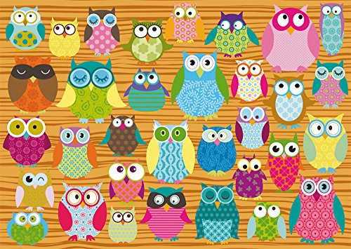 SCHMIDT Owls Children's Puzzle (500-Piece)