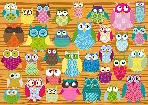 SCHMIDT Owls Children's Puzzle (500-Piece)