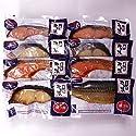 【送料無料】【父の日】の贈り物に最適 新潟・万越屋 レンジで簡単 焼き魚詰合せ