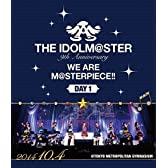 THE IDOLM@STER 9th ANNIVERSARY WE ARE M@STERPIECE!! Blu-ray Day1