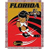 "Florida Panthers NHL Triple Woven Jacquard Throw (044 Series) (36""X46"")"
