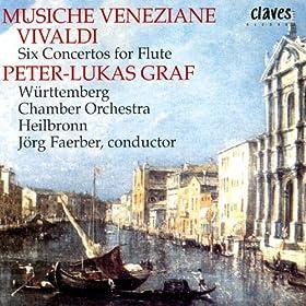 Vivaldi: Six Flute Concertos