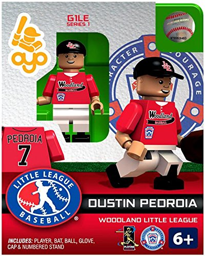 Dustin Pedroia LLB Woodland Little League Oyo G1S1 Minifigure - 1
