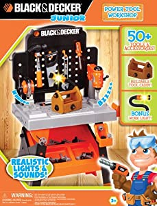 Black And Decker Junior Power Tool Workshop from Jakks