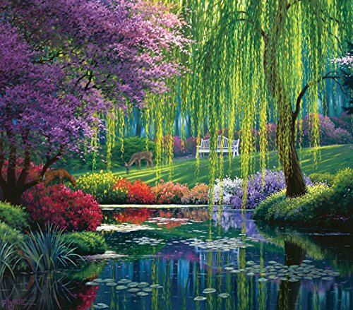 SunsOut Willow Pond 300 Piece Jigsaw Puzzle