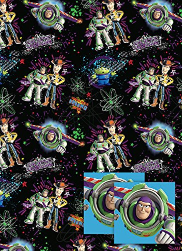 disney-toy-story-woody-buzz-lightyear-2-sheets-of-wrap-and-2-tags