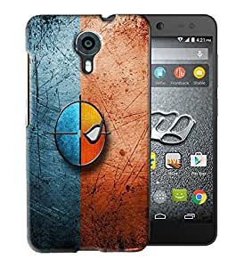PrintFunny Designer Printed Case For MicroMax Xpress 2