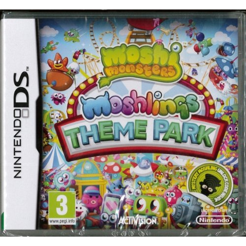 Moshi Monsters Moshlings Theme Park - Nintendo DS - 1