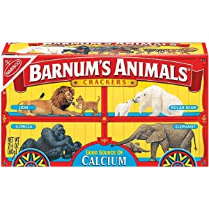Barnum's Animal Crackers, 2 oz (Pack 12)