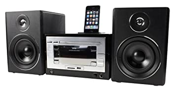 König HAV-MCS35 Chaîne hifi DVD avec station d'accueil pour iPod Tuner FM/AM Noir