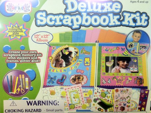 Deluxe Kids Scrapbooking Kit