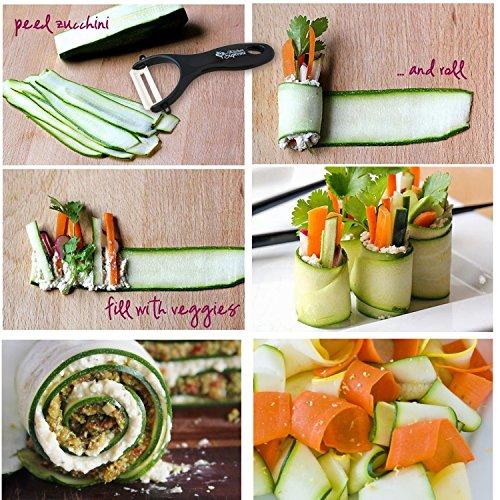 spiral slicer spiralizer complete bundle best vegetable import it all. Black Bedroom Furniture Sets. Home Design Ideas