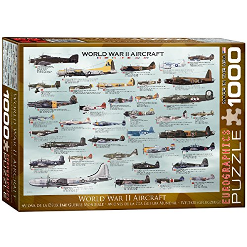WWII Aircraft 1000-Piece Puzzle