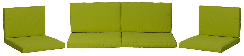 beo Loungekissen Ersatz für Monaco Set Gruppen Austauschkissen wasserabweisend Set mit 8 Kissen, 5 cm dick, hellgrün kaufen