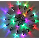 H.Q. Dynamics Pack of 24 Color Changing Mini Blinking LED Party Lights for Balloons Paper Lantern Lights Birthday Party Floral Wedding Halloween Christmas Decoration Submersible Waterproof Party Supplies Fairy Lights Party Decorations Centerpieces (24 pcs)