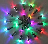 H.Q. Dynamics Pack of 24 Color Changing Mini Blinking LED Party Lights for Balloons Paper Lantern Lights Birthday Party Floral Wedding Halloween Christmas Decoration Submersible Waterproof Party Supplies Fairy Lights Party Decorations (24pcs)
