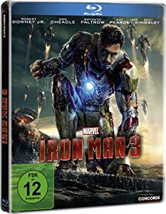 Iron Man 3 (Steelbook) [Blu-ray] [Limited Edition]