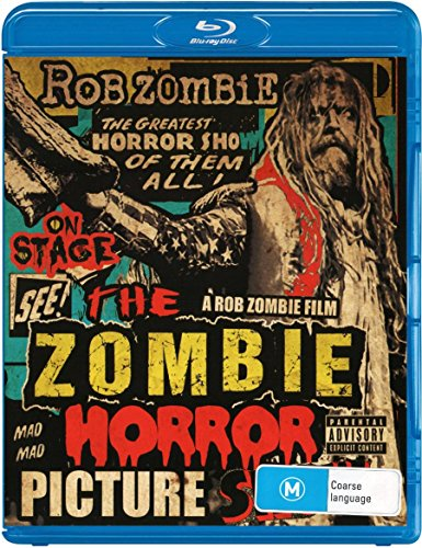 Blu-ray : Rob Zombie - The Zombie Horror Picture Show [Explicit Content]