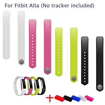 Amazon.com: Fitbit Alta Accessory Replacement Sports Wrist Bands ...