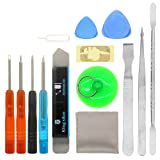 14 in 1 repair replacement cleaning tool kit for phone iPhone x/4/4s/5/5s/6/6s/Plus/7/Plus/8/Plus (Tamaño: 14 in 1)