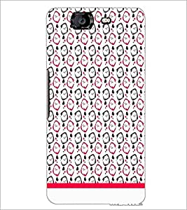 PrintDhaba Pattern D-1992 Back Case Cover for MICROMAX A350 CANVAS KNIGHT (Multi-Coloured)