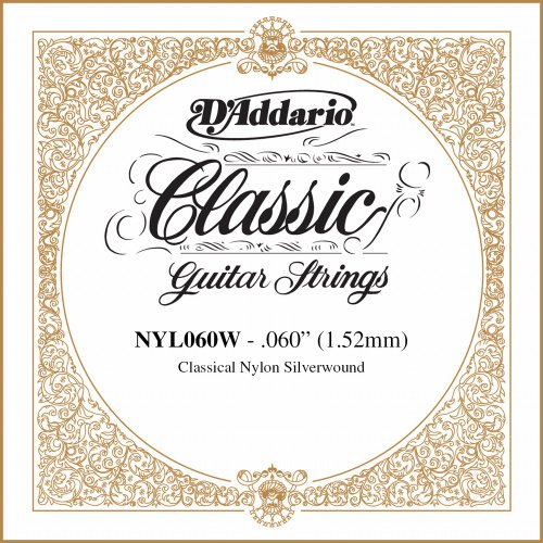 D'Addario NYL060W Single Classics Rectified Guitar