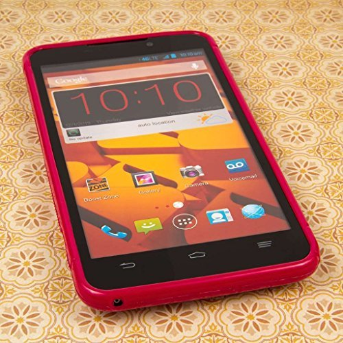 Empire MPERO FLEX S Series Protective Case for ZTE Boost Max N9520 - Retail Packaging - Hot Pink (Boost Max Phone Protective Cases compare prices)