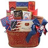 Art of Appreciation Gift Baskets America the Beautiful Patriotic Basket