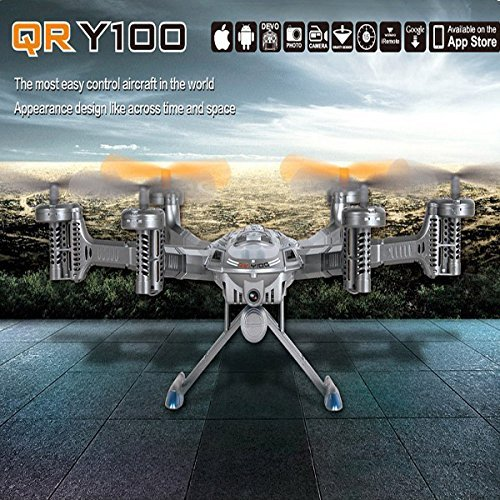 Walkera-QR-Y100-Wi-Fi-FPV-Mini-HexaCopter-Video-Camera-Silver