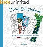 Coloring Book Bookmarks: 20 printable...