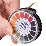 Universal PH Test Strips, Ph Measure Full Range 0-14, Easy to Use & Accurate Water, Food, Pools, Aquariums, Monitor Body Ph Level Tester Kit for Alkaline & Acid Using (Multicolor) (Color: Multicolor, Tamaño: ELGA-BTD0169BK)