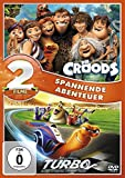 Die Croods / Turbo [2 DVDs]