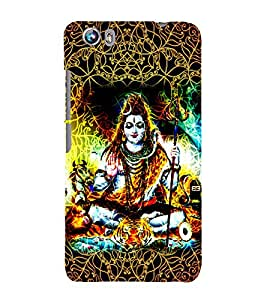 Jagadisha 3D Hard Polycarbonate Designer Back Case Cover for Micromax Canvas Fire 4 A107