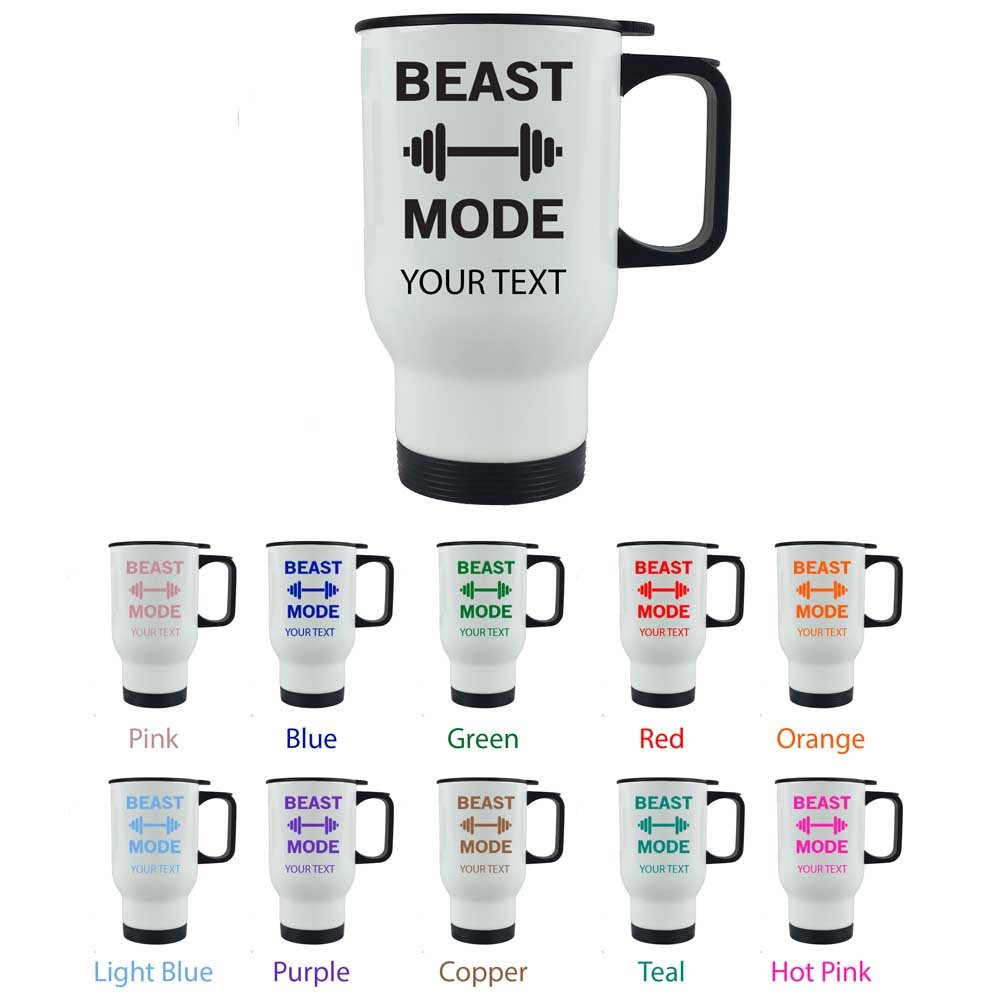 personalized-custom-beast-mode-weightlifting-14-oz-white-stainless-steel-sublimation-travel-mug-pick-your-imagefont-color-coffee-travelling-mug-for-men-women-perfect-customizable-holiday-gift-or-birthday-present-contact-seller-for-text-personalizat