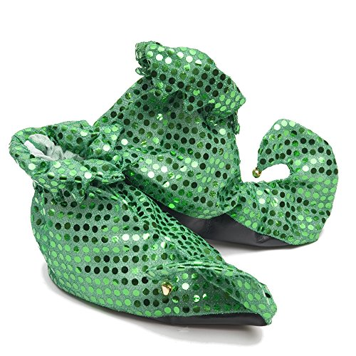 Sequin Leprechaun Shoes - 1