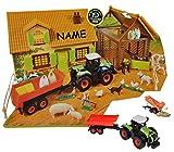 Komplettset-XL-Bauernhof-Pferdestall-mit-Stall-Traktor-mit-Tiere-Zubehr-143-fr-Kinder-Pferd-zum-Spielen-Bauen-aus-Plastik-Kunststoff-Gestt-Farmtiere-Deko-Tier-Spielwelt-Spielset