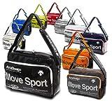 movesport ムーブスポーツ デサント パンチング エナメル ショルダーバッグ Mサイズ DAC8311