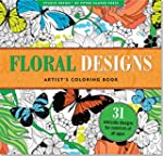 Floral Designs Adult Coloring Book (3...
