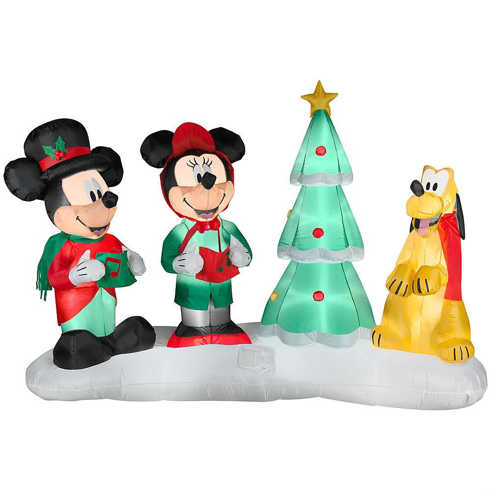 Mickey mouse and friends outdoor christmas inflatables for Airblown christmas decoration