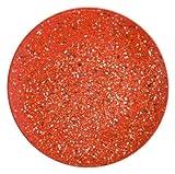 Zak Designs Confetti Melamine Dinner Plates, 11-Inch, Red, Set of 6